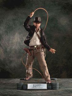 Estatua Indiana Jones. La calavera de Cristal, 60cm, Cinemaquette