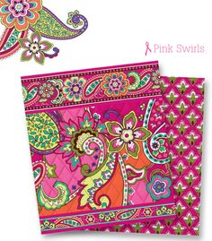 Love the new Vera Bradley Breast Cancer pattern Pink Swirls! Coming June 26th! Potential all-time favorite.