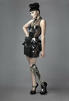 Badass custom prosthetic limbs by Sophie de Oliveira Barata