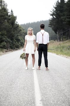 Jess and Marius - Back to Front Wedding Images, Hipster, Style, Fashion, Swag, Moda, Stylus, Fasion, Hipsters