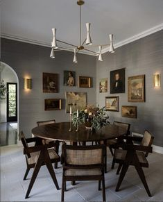 Dining Room Design, Dining Area, Dining Table, Dining Decor, H Design, House Design, Dining Room Inspiration, Home Living, Living Room