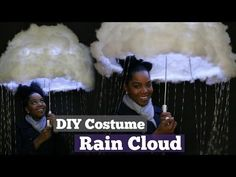 DIY Halloween Costume, Rain Cloud, Melissa Denise, My Crafts and DIY Projects