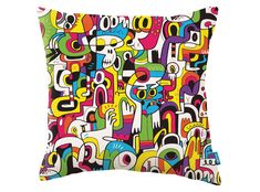 """""""I wanted to bring my most recognisable characters into the fold, with the addition of character you get emotion and personality. This is really a funny, comic design with a little bit of British cheekiness creeping through."""" – Jon Burgerman  Launching in the UK September 2015 and available worldwide from January 2016 Durable High Performance Fabrics"""