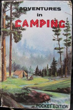 vintage camping guide book - Google Search