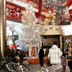 Huge Christmas display in Nagoya, Japan