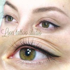 Permanent Makeup - Augenbrauen - - Eyeliner tattoo permanent - Source by Eyeliner Looks, Best Eyeliner, No Eyeliner Makeup, Hair Makeup, Eyeliner Pencil, Thin Eyeliner, Simple Eyeliner, Eyeliner Tattoo, Makeup Tattoos
