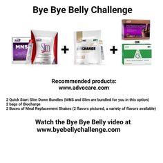 Advocare bye bye belly guide