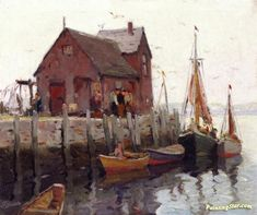 Rockport, Maine Artwork by Anthony Thieme