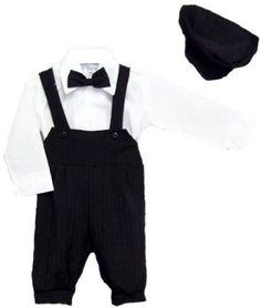 9 Months-Boys 4Pc Black Knicker Set Just-Darling. $37.99