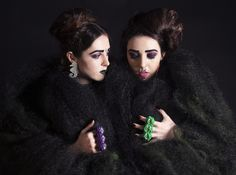 Models: No Frills Twins Styling and Photography: Chloe Elizabeth Garments and Accessories: Cut Throat On The Street Hair: Danny Cowan of Toni and Guy Armadale Make-Up: Jasmina Risteska-Tot and Abbey Parke Nails: Lucy Scozzaro
