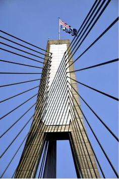 The Harbour Bridge from $34.99 | www.wallartprints.com.au #SydneyArt #AustralianLandscapePhotography