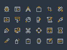 Design & Dev Icons