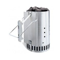 Easy Fire Starter Rapid Charcoal Grill Chimney Starter BBQ Barbecue Camping Kit