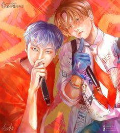 entagon-Huidawn(Hui&E'DAWN)ヽ(^。^)ノThis is from Shine acapella ver.I ship them~ I wasn't familiar with their face,so i couldn't draw Kpop Drawings, E Dawn, Kpop Fanart, Anime Guys, Pop Culture, Cool Art, Kawaii, Fan Art, Artwork