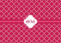 #phimu laptop sleeve coming soon! Comment and let us know what you think! <3 #quatrefoil $22.00