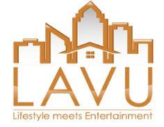 LAVU Logo Signage, Entertaining, Logo, Design, Decor, Logos, Decorating, Dekoration, Design Comics