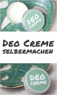 Deo Creme selbermachen #diy #zerowaste Diy Deodorant, Make Your Own Deodorant, Deodorant Recipes, Natural Deodorant, E Cosmetics, Natural Cosmetics, The Body Shop, Beauty Care, Beauty Hacks