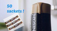 NESCAFE FRAPPE - GREEK COLD COFFEE - 50 sachets X 2g #NESCAFE