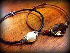 Abbi Berta of The Bead Place and ... shows you how to make a fun memory wire bracelet with just a few beads. All you need is Jewelry Tube, Memory Wire, a few beads and spacers of your choice, round nose pliers, chain nose pliers, and a memo. Diy, Bracelet, Lace, Wire,