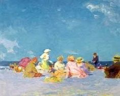 Afternoon Fun by Edward Henry Potthast