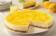 Order lemon cheesecake online from orderzapp! A delightfully smooth lemon cheesecake. Perfect Cheesecake Recipe, Lemon Cheesecake Recipes, Food Cakes, Dessert Bread, Dessert Recipes, Low Carb Torte, Mousse Au Chocolat Torte, Torte Recepti, Dessert Aux Fruits