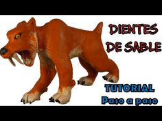 Como hacer un Tigre dientes de sable de Plastilina/How to make a saber-toothed tiger with Plasticine - YouTube