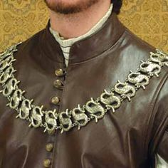 Knight's chain (would be fun to do in groom's last initial :)