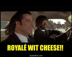 Royale with cheese – Pulp Fiction « Quotes Pics