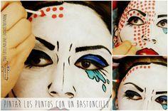 maquillaje de comic 7