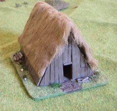 Saxon homes projects - Home box ideas Anglo Saxon Houses, Medieval Houses, Viking Hall, Anglo Saxon History, Viking House, Warhammer Terrain, House Lamp, Minecraft Blueprints, A Frame House