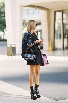fashion-streetstyle:    (via Vanessa Jackman: New York Fashion Week SS 2013….Carlotta)  Carlotta Oddi, Assistant to Anna Dello Russo, after Tory Burch, NYC, September 2012.