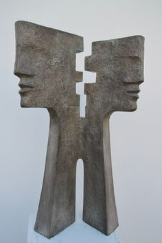 JACQUES LEBESCOND, TITLE : EPSILON, SIZE : height 100 cm, MEDIA : BRONZE