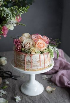 Milk and honey cake and the Bibbyskitchen cook book | Cake Friday 36th Birthday, Special Birthday, Cake Birthday, Birthday Bash, Birthday Ideas, Happy Birthday, Beautiful Cakes, Amazing Cakes, Pretty Cakes