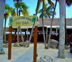 Looe Key Tiki Bar, Ramrod Key, Fla Keys. The best live music & dancing on weekends & taco tues.