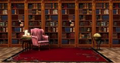 Book set walls by Ladesire - Sims 3 Downloads CC Caboodle