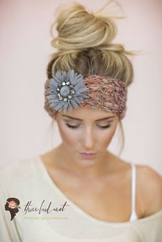 knitted headbands. winter's fashion turban hair bands for cozy style. - three bird nest