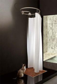Pluviae, bathtubes and showers bath design line by Matteo Thun.