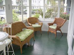 Would love to have a sun porch!