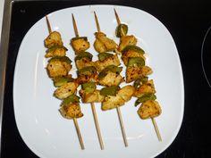 natassa's bake blog: Σουβλάκια κοτόπουλου με πάπρικα #chicken_skewers