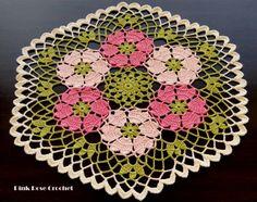 Doily Centrinhos - Rose - Álbuns da web do Picasa