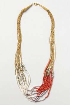 Twisted Strands Necklace #anthropologie