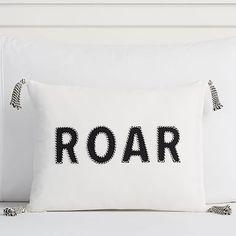 The Emily & Meritt Roar Pillow Covers #pbteen