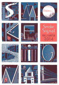 http://jonmcnaught.co.uk/index.php?/projects/smoke-signal/
