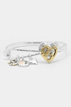 Mom Charm Bracelet on Emma Stine Limited