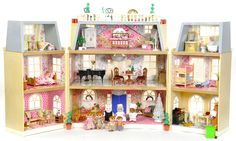 Sylvanian Families Cath Kidston Decorated Furnished Grand Hotel House Figures | by fistuff