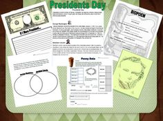 Presidents' Day Mini Unit Freebie