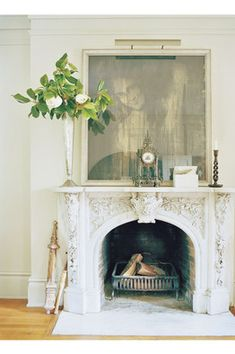 How to Buy an Antique Mantelpiece