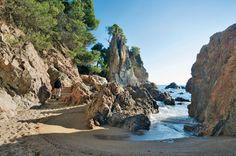 Randonnée sur le Cap Roig près de Calella sur la Costa Brava