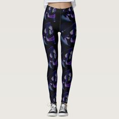 #green and purple skulls leggings - #Halloween happy halloween #festival #party #holiday