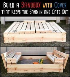 We Found The Ultimate Sandbox! It Keeps The Sand In And The Cats Out